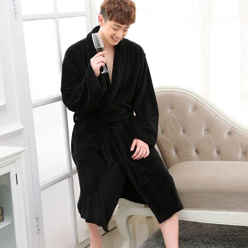 black flannel men robes (2)