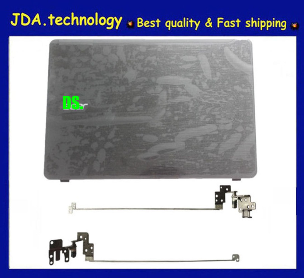 New Acer Aspire F5-573 F5-573G Black LCD Back Cover Top Case Rear Lid /& Hinges