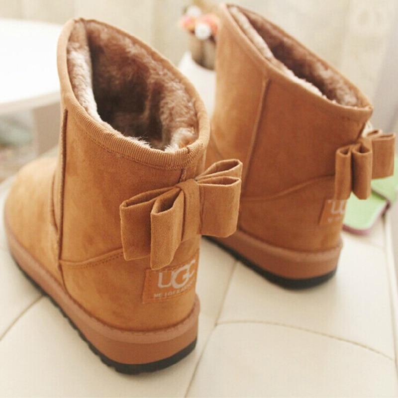 2016 New Brand Women Snow Boots, Winter Plus Plush Keep Warm Non Slip Platform Boots Zapatos Mujer botas femininas<br><br>Aliexpress