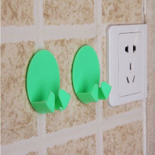 2Pcs Cre-ative Household Home Practical Goods Decorative Socket Hook Convenient Safe Plug Hooks Kids Protect