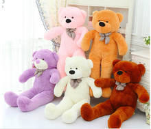 180CM/1.8M giant stuffed teddy bear big huge animals kid baby plush toy dolls life size teddy bear girls toy 2016 New arrival
