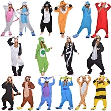Unicorn Pegasus Panda Raccoon Bear Skull Fox Bee Onesie Animal Pijama Pajamas Pyjamas Suit Sleepwear For Men Womens