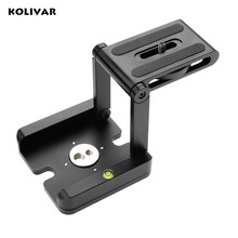Aluminum Folding Quick Release Plate Stand Holder Tripod Z Flex Tilt Camera Head Solution Photography Studio Camera Tripod Z Pan(China)
