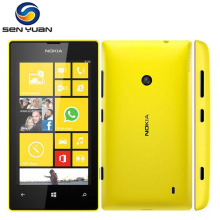 "Original Nokia Lumia 520 unlocked mobile phone Dual Core 3G WIFI GPS 4.0"" 5MP 8GB Nokia 520 Windows cell phone"