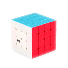 4X4X4 QiYi QiYuan Magic Cube Professional Speed Cube Speed Puzzle Cube Educational Toys For Kids Children Xmas Gifts Cubo Magico(China)