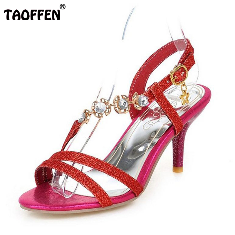 Plus Size 31-48 New Arrival Hot Sale Fashion Summer Office Women High Heel Sandals Casual Buckle Strap Woman Shoes P18485<br><br>Aliexpress