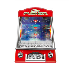 Funny Children Coin Operated Games Coin Pusher Machine Lucy Pusher Machine For Kids Game Toys Mini Electric Coin Machine