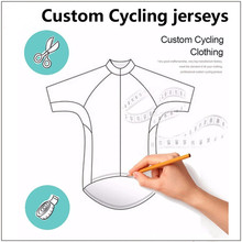 Customized Cycling Jerseys Short Sleeve Unisex Customers Design Jersey Factory Manufacturer Lycra Fabric Material Cheap(China)
