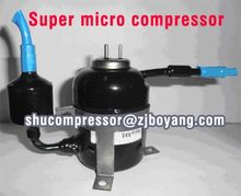 24v Super Micro Mini DC Compressor for 12V/24V Solar Refrigerator Solar Fridge Solar Freezer battery power