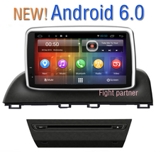 Free Shipping Android 6.0 Stereo Car dvd player for Mazda3 Axela Gps Navigation