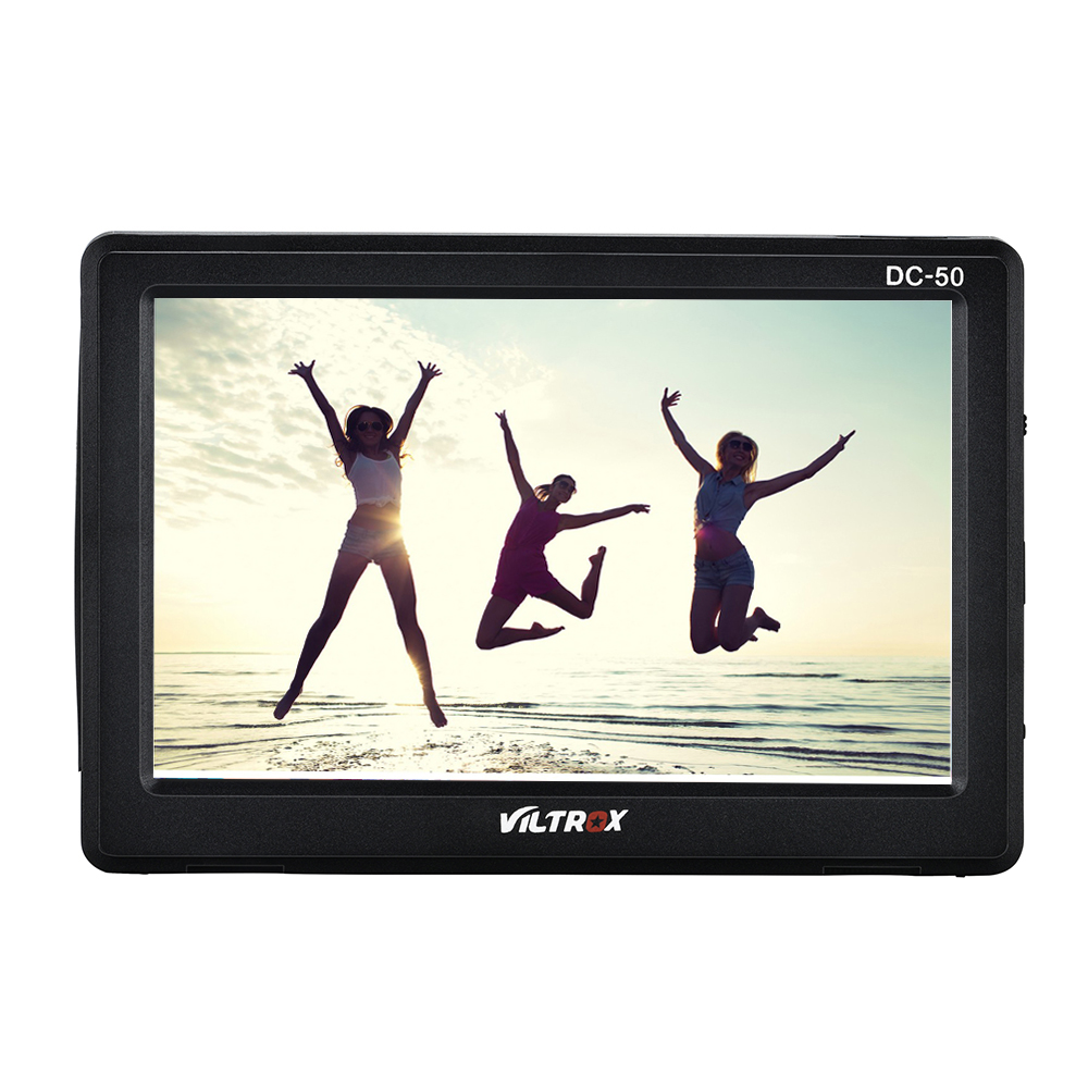 Viltrox-DC-50-Portable-5-Clip-on-LCD-HDMI-Camera-Video-Monitor-Battery-Charger-for-Canon