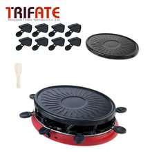 505C Double Layers Smokeless Electric Pan Grill BBQ Grill Raclette Grill Electric Griddle