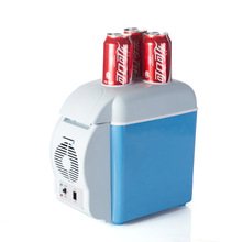 Free Shipping Car Mini Fridge Portable 12V 7.5L Auto Travel Refrigerator Quality ABS Multi-Function Home Cooler Freezer Warmer