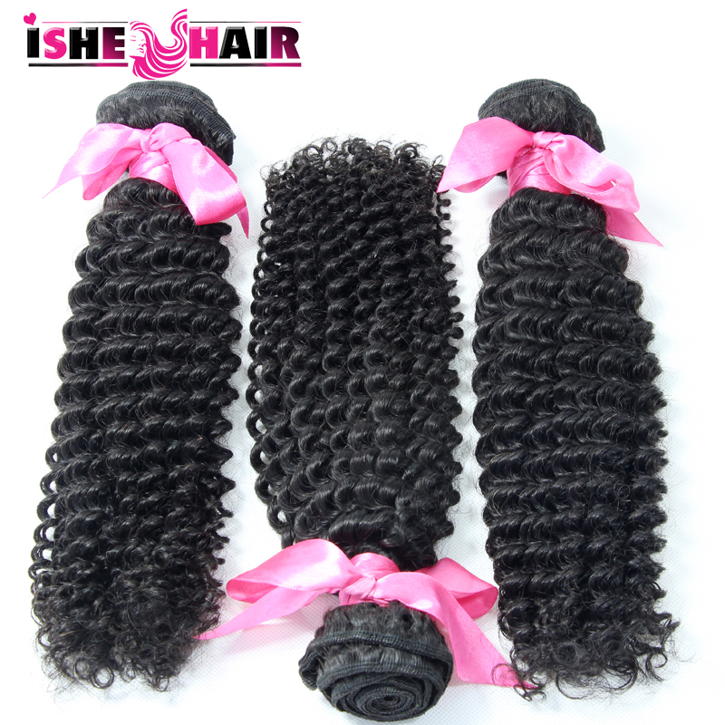 6A Mongolian Afro Kinky Curly Virgin Hair Weave Kinky Curly Human Hair Unprocessed Mongolian Virgin Curly Hair 3pcs/lot<br><br>Aliexpress