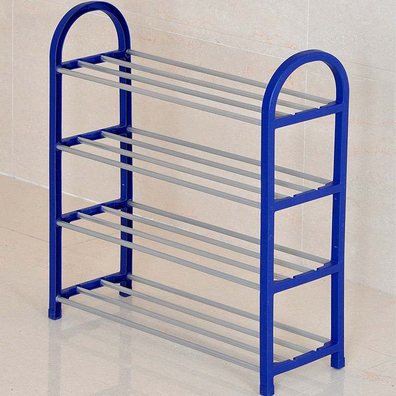 COSTWAY 4 Tier Shoes Rack Shoe Cabinets Stand Shelf Shoes Organizer Living Room Bedroom Storage Furniture W0191 5