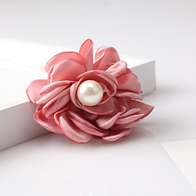 Cute Flower Design Baby Hairpins Children Flower Hair Accessories Baby Peony Pearl Headwear Girls Gift Baby Lovely Hair Clip