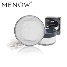 Menow Brand transparent control oil breathable powder 24 hours lasting anti-sweat no blooming Concealer powder cosmetics F16010(China)