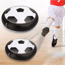 Bojoy 1 pieces Hover Ball Air Power Soccer Ball Colorful Disc Indoor Football Toy Multi-surface Hovering and Gliding Outdoor Toy(China)