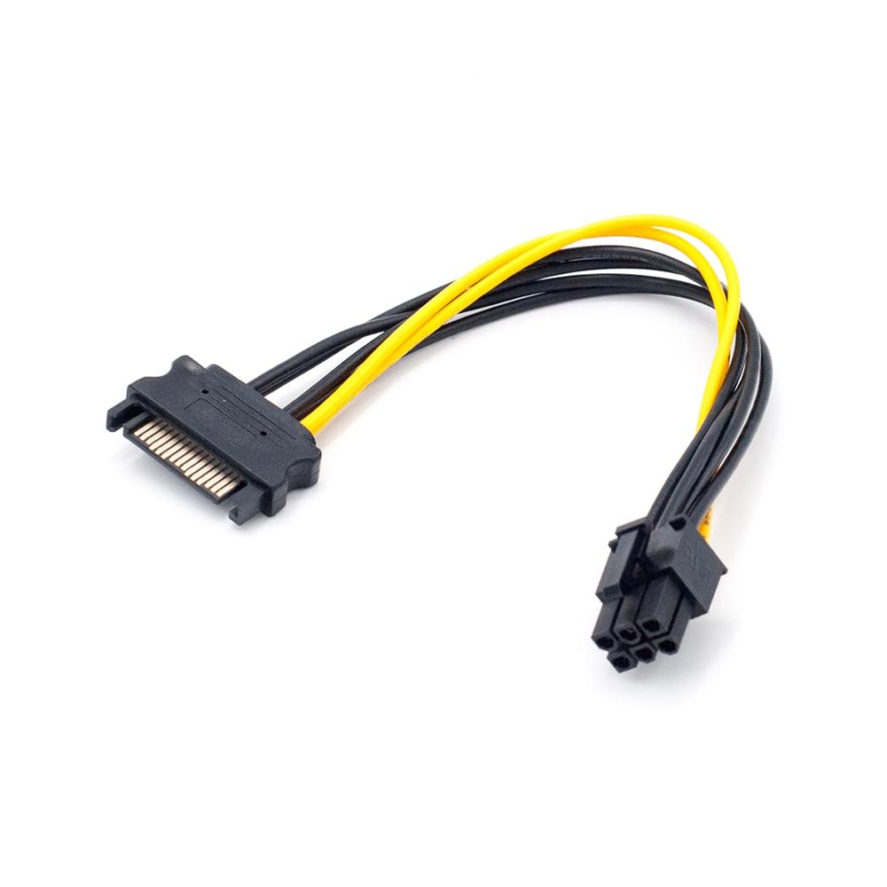 SATA adapter BitCoini kaevandamiseks – 6 tk komplektis