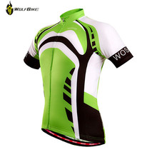New! Men Green Purple Cycling Jersey New Brand Design Sports Short Sleeve T-shirts MTB Road Clothing Bike Bicycle Cycling Jersey(China)