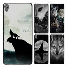 The Wolf anger Style Case Cover for Sony Ericsson Xperia X XZ XA XA1 M4 Aqua E4 E5 C4 C5 Z1 Z2 Z3 Z4 Z5