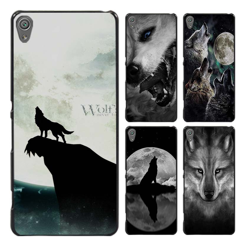 The Wolf anger Style Case Cover for Sony Ericsson Xperia X XZ XA XA1 M4 Aqua E4 E5 C4 C5 Z1 Z2 Z3 Z4 Z5(China (Mainland))