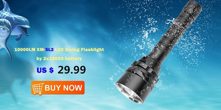 diving flashlight 18650 (2)