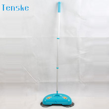 Floor Dust Sweeper 2017 Hot cleaner house New Arrival 360 Rotary Home Use Magic Manual Telescopic Floor Dust Sweeper 17MAY26(China)