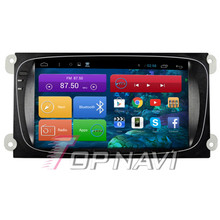 Quad Core Android 4.4 Car Stereo for Focus With 16GB Nand Flash Memory Wifi Bluetooth GPS Map Mirror Link