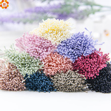 400pcs 1.5mm Mini Scrapbooking Stamen Artificial Flower Supplies For Wedding Party Home Decoration DIY Christmas Accessories(China)
