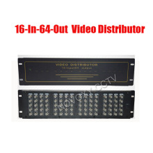 BNC Video Distributor 16 In 64 Out Composite Amplifier 16CH To 64CH Splitter For CCTV Security Camera DVR System