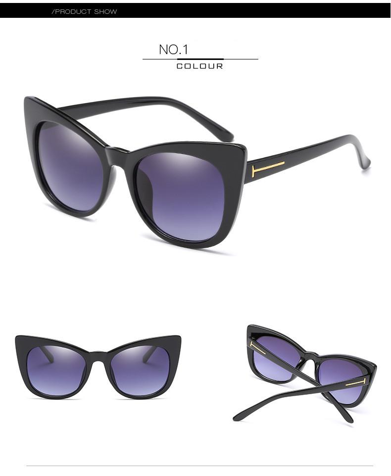 Luxury Vintage Cat Eye Sunglasses Women Brand Designer Retro Female Sunglass Points Sun Glasses For Women Ladies Sunglass Mirror (7)