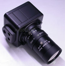 "5~50mm (10x) Manual Zoom & Focal LENs Effio-A 1/3"" Sony ICX672/673+CXD4151 CCTV Box style camera module"
