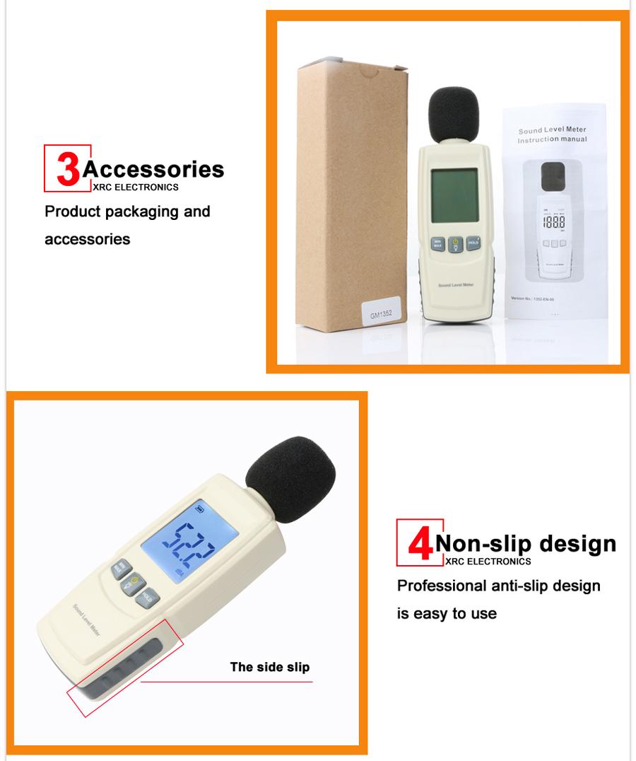 Sound level meters detail description 07