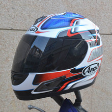 Free shipping motorcycle helmet full helmet ARAI helmet Motorcycle Full Face Helmet ECE blue ,Capacete 4 colors (1PCS Mask)(China)