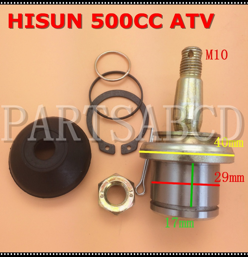 Tir Rod end Ball Joint For Hisun 500CC 700CC ATV Quad Parts 62410-107-0000(China)