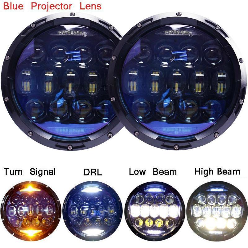 130W 7inch LED Headlight7800