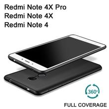 Xiaomi Redmi Note 4X Pro Case Full Body Frosted Silicone Soft Case Xiaomi Redmi Note 4 X Cell Phone Cover Xiomi Redmi Note4