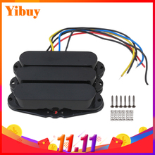 Yibuy Black Single Coil Guitar Pickups pick-Up pickups For Set(China)