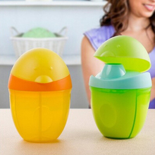 Cute Design Three Lattice Milk Powder Formula Dispenser Container Baby Food Storage Travel Boxes 3 Color Available(China)