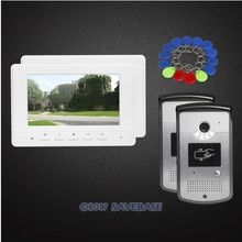 "HOMSECUR 7"" Hands-free Video Door Phone Intercom System with Mute Mode for Home Security(China)"