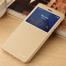 Huawei honor 6x case cover silicon back Huawei honor 6x case flip leather wallet open window honor6x ultra thin capa coque #VA