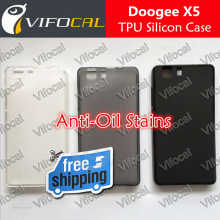 DOOGEE X5 Silicon Case 100% New Anti-Oil Soft TPU Protective Back Silicon Cover For DOOGEE X5 Pro Mobile Phone + Free Shipping