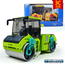 Free shipping high quality alloy kaidiwei brand Engineering Vehicle model Wholesale toy cars similar as siku-Tandem compactor