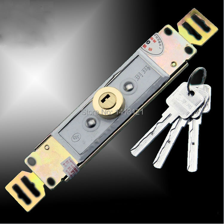 free shipping door lock Rolling shutters security door lock household DIY hardware part store Garage Warehouse Antitheft lock<br>