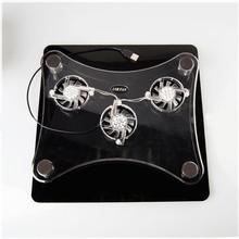 laptop cooler 17 inch 5 fans 2 USB Laptop Cooling Pad/ Notebook Stand Cooler silence LED fits 9-17