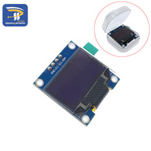 "White Yellow, blue double color 128X64 OLED LCD LED Display Module For Arduino 0.96"" I2C IIC SPI Communicate"