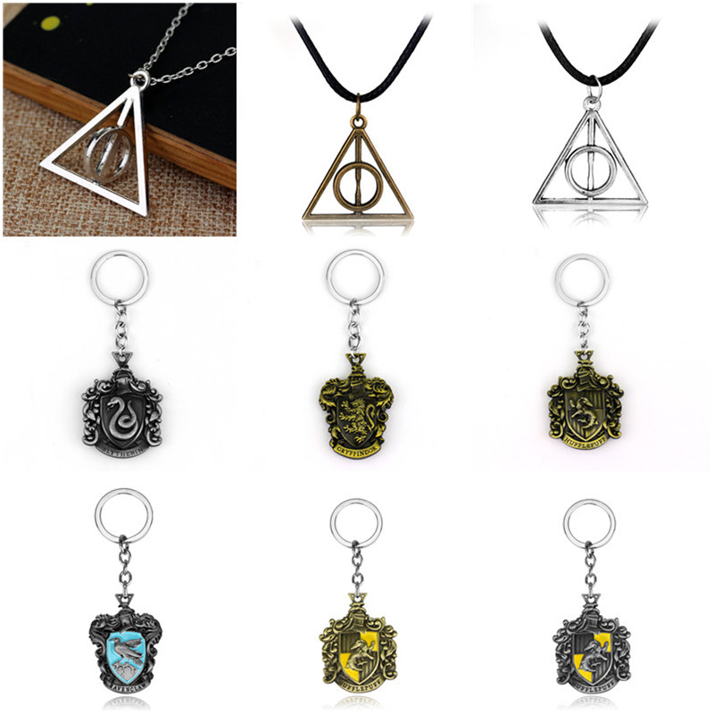 #1 Keychain Harry Potter Collectible Car Keyring Keyring Gift Accessories Keyring Pendant Car Bag Childrens Creative Gift Phone Charm Best Gift for Fans