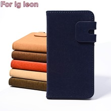 Top Selling Luxury Leather Phone Cases For LG LEON 4G LTE C40 H340N H320 C50 H324 Flip Holster Phone Shell Specially Design