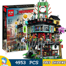 495New Ninja Great Creator City Construction 06066 Model Modular Building Blocks Teenagers Toys Bricks Compatible lego - Baby Rhythm store